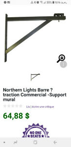 Northern Lights Barre  Commercial -Support mural