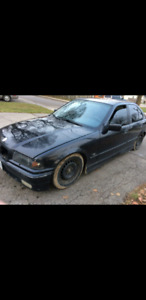 *price reduced* 1996 bmw e36 318i, set up to drift $1,000 obo
