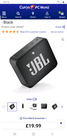 JLB Go2 Portable Speaker