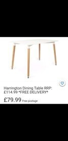 Solid wood dinning table only £79.99 - BIG BRANDS LOW PRICES