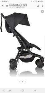 Mountain buggy nano v2 compact travel stroller