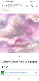 Arthouse galaxy wallpaper 2 rolls