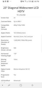 "Panasonic 23"" Diagonal Widescreen LCD HDTV TC-23LX50"