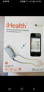 Blood pressure monitor works  Android or iPhone