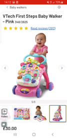 Vtech first steps baby walkers