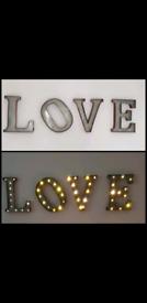 LOVE wall lights