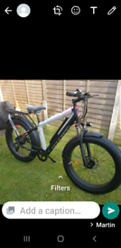 Electric fat tyres bike new