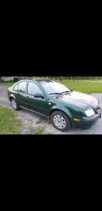 2000 Volkswagen Jetta 2.0L $650