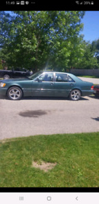 IMMACULATE CONDITION 1995 MERCEDES BENZ S-CLASS S420