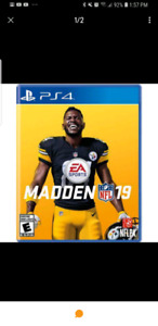 Madden 19 ps4 brand new and sealed