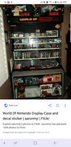 Wanted Nintendo display cases$$$$$