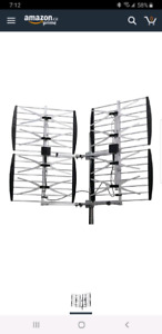 HD antenna with tripod and j arm
