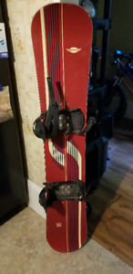 Sims SMU 55 Snowboard, ex.cond. w/ bindings