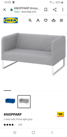 IKEA KNOPPARP grey Sofa