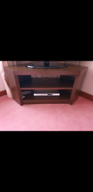 NEXT mango wood corner tv/media unit