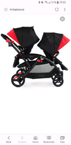 *** DOUBLE STROLLER- and accessories ***
