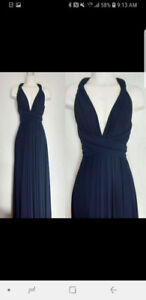 Long dress, can be worn several ways!!!