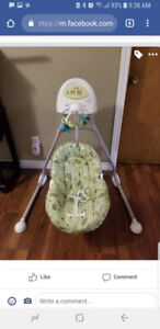 Fisher Price Cradle N Swing Baby