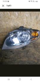 A4 b7 passenger headlight