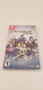 Fire Emblem Warriors Switch - Brand New - NEUF SEALED