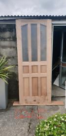 Brand new hardwood doors