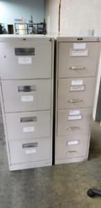 Office Furniture - 2 Filing Cabinets, 10 Office Chairs