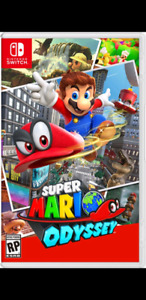 WANTED: Mario Odyssey CASE ONLY