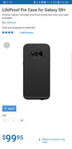 ●●BRAND NEW LIFEPROOF FRE PHONE CASE FOR SAMSUNG S8+PLUS ~ $60●●