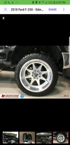 "22"" Specialty Forged Wheels and Toyo Tires"