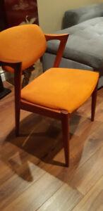 Danish Modern Teak Chair Vintage