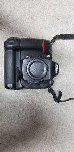 Used Nikon D300 12.3MP Camera w/ Battery grip body only