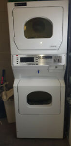 USED COIN OP DOUBLE STACKED DRYER MAYTAG