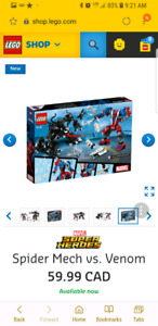Wanted Spiderman set