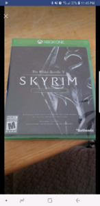 Sealed copy of Skyrim collectors edition Xbox One