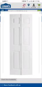 6 Panel bifold door