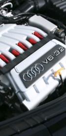 Audi TT A3 a4 a6 VW Golf R32 3.2 v6 BdB complete running engine low 60 for sale  Bradford, West Yorkshire