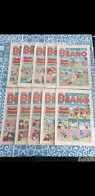 Vintage collectable comics beano dandy