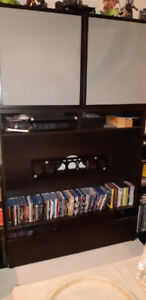 """2 Piece TV stand combo that fits up to 45"""" TV"""