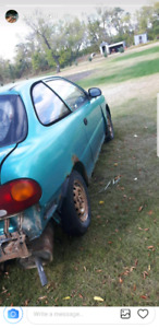 1995 Hyundai accent parting out