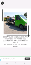 CARS WANTED £££ WAITING CLASSICS ESPECIALLY WANTED BARN FIND