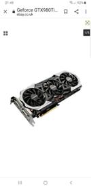 Nvidia Geforce 980ti graphics card