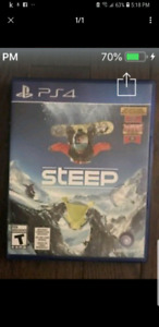 PS4 GAME STEEP EXCELLENT CONDITION