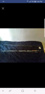 trout/ fly rods with reels hard case 50$