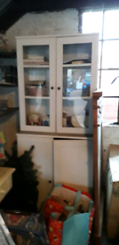 IKEA Hemnes display cabinet