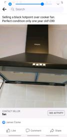 Over cooker fan