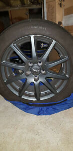 VW Audi winter tires with alloy rims SET , $800