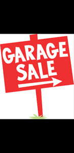 Garage Sale Saturday October 6th