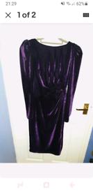 Monsoon dress purple size 10