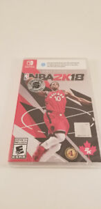 NBA 2K18 Switch - Brand New - NEUF SEALED