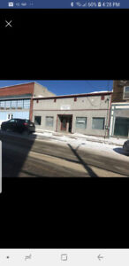 Commercial storefront and warehouse for lease or sale